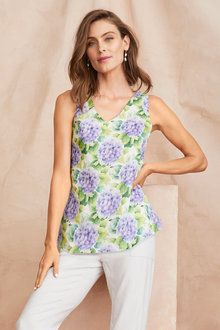 Grace Hill Linen Cami - 250891