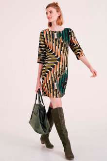 Heine Abstract Print Shift Dress