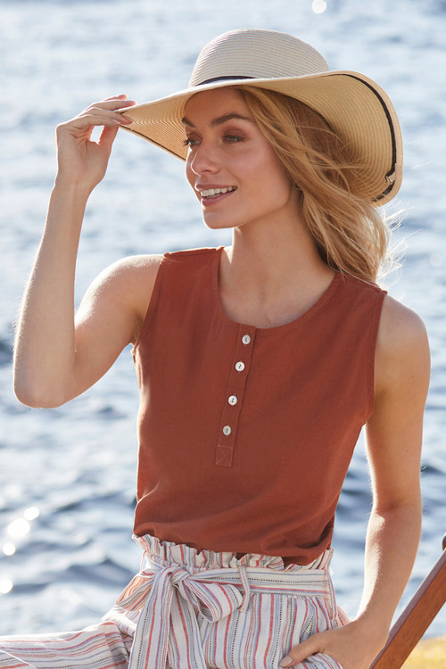 Accessories Wide Brim Hat