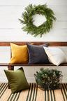Cypress Snow Wreath