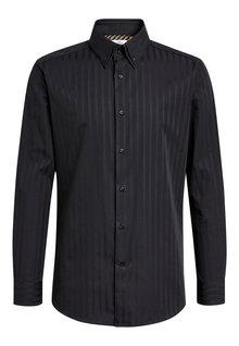 Next Slim Fit Single Cuff Double Collar Shirt