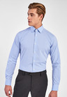Next Non-Iron Egyptian Cotton Stretch Signature Shirt-Slim Fit Single Cuff
