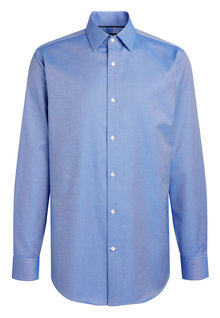 Next Non-Iron Egyptian Cotton Stretch Signature Shirt-Regular Fit Single Cuff