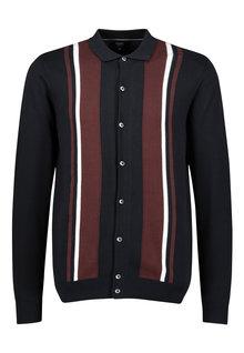 Next Stripe Button Through Cardigan