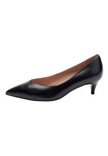 Next Forever Comfort Kitten Heel Court Shoes