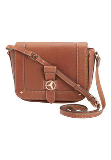 Next Leather Hummingbird Saddle Bag