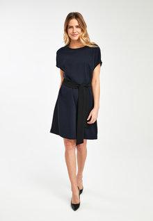 Next Belted Shift Dress - 251225