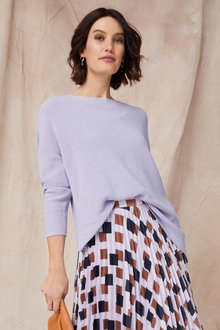 Grace Hill Cotton Cashmere Sweater - 251290