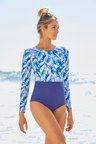 Quayside Sport Luxe Long Sleeve Rash Suit