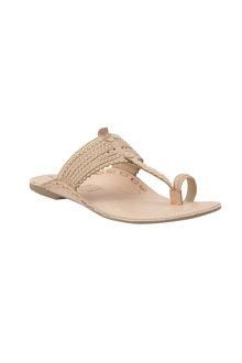 Human Premium Shell Sandal Flat - 251357