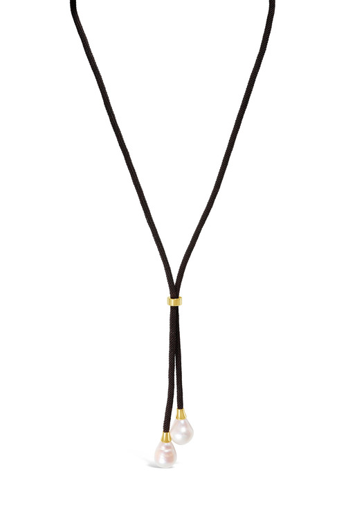 Fairfax and Roberts Real Freshwater Pearl Dressage Lariat