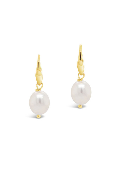 Fairfax and Roberts Baroque Pearl Drop Earring
