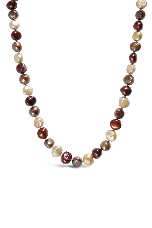 Fairfax and Roberts Real Baroque Pearl Ombre Necklace