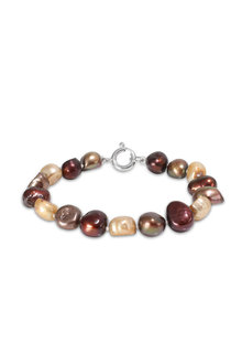 Fairfax and Roberts Real Baroque Pearl Ombre Bracelet
