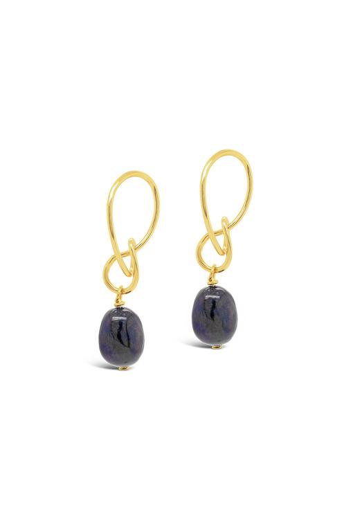 Fairfax & Roberts Real Freshwater Pearl Modern Twist Drop Earrings