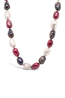 Fairfax & Roberts Real Baroque Pearl Ombre Necklace