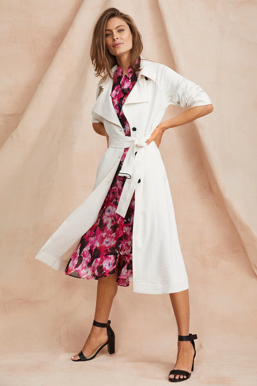 Grace Hill Trench Coat