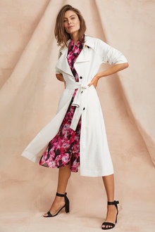 Grace Hill Trench Coat - 251448