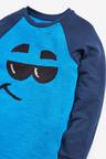 Next Cobalt Sequin Face T-Shirt (5-16yrs)