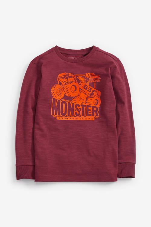 Next Berry Monster Truck Graphic T-Shirt (5-16yrs)