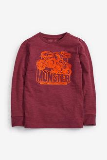 Next Berry Monster Truck Graphic T-Shirt (5-16yrs) - 251474