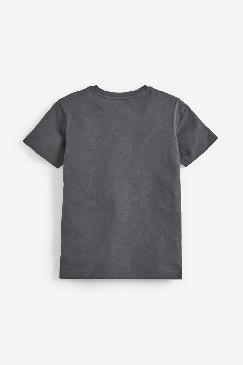 Next Charcoal Flossin Graphic T-Shirt (5-16yrs)