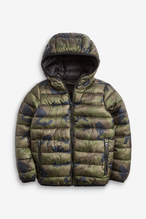 Next Camouflage Shower Resistant Padded Jacket