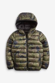 Next Camouflage Shower Resistant Padded Jacket - 251483