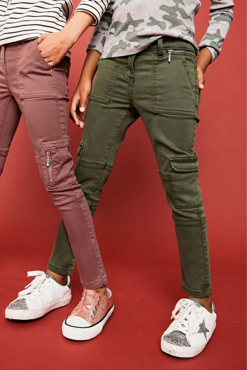 Next Khaki Utility Trousers (5-16yrs)