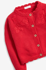 Next Red Embroidered Cardigan