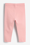 Next Pale Pink Unicorn Embroidered Leggings