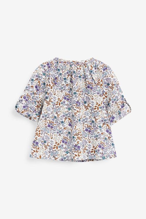 Next Multi Roll Sleeve Blouse