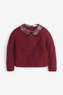 Next Red Collar Jumper - 251576