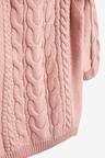 Next Pink Cable Jumper Dress