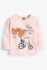 Next Pink Girl Character T-Shirt (3mths-7yrs)