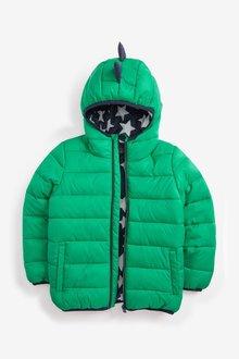 Next Green Dino Padded Jacket - 251587