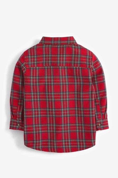 Next Tartan Long Sleeve Check Shirt (3mths-7yrs)