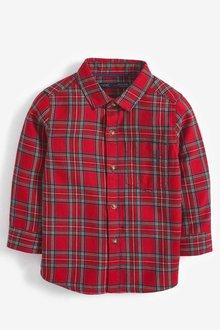 Next Tartan Long Sleeve Check Shirt (3mths-7yrs) - 251589