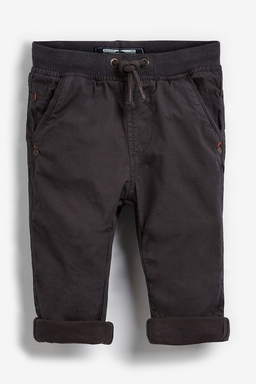 Next Charcoal Lined Trousers