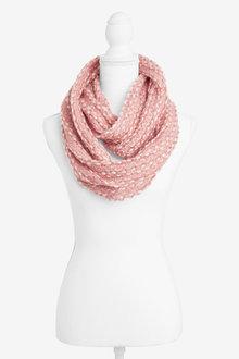 Next Pink Sparkle Snood - 251720