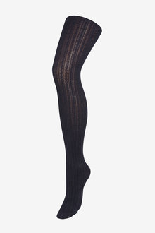 Next Navy Cable Knit Tights - 251723
