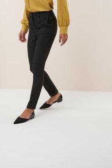 Next Black Slim Trousers - 251808