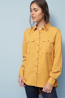 Next Ochre Tencel® Shirt - 251810