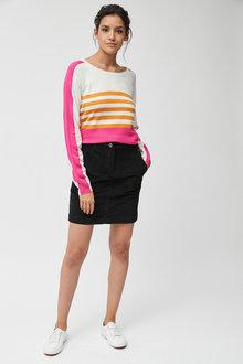 Next Black Cord Mini Skirt - 251854