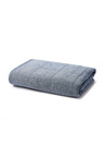 Hampton Chambray Linen Quilted Throw