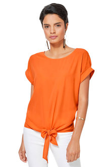 Euro Edit Tie Top - 251936