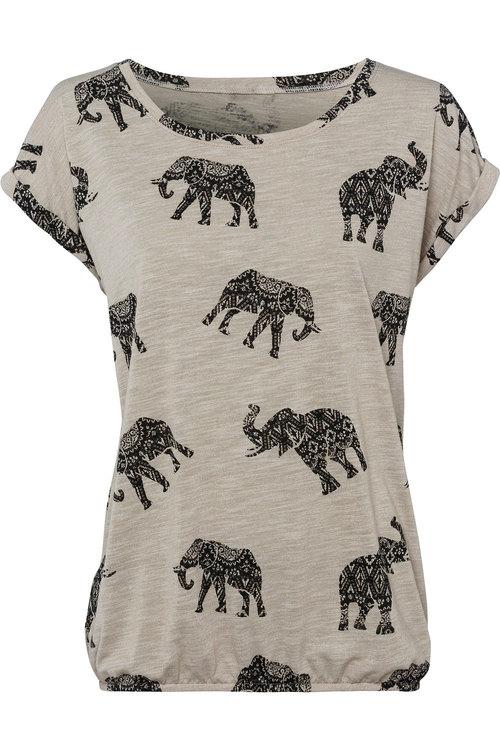 Urban Elephant Print Tee