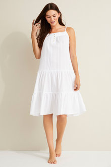 Mia Lucce Tiered Nightie - 251979