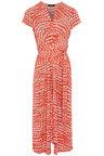 Kaleidoscope Hi Low Abstract Print Dress