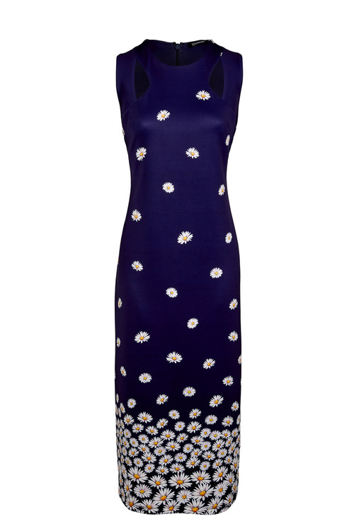 Kaleidoscope Daisy Scuba Dress